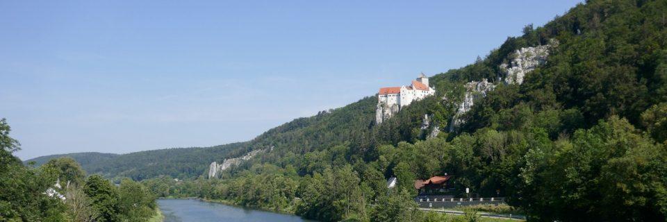 Altmühltal - Burg Prunn