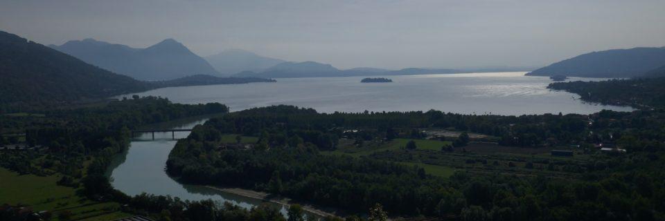 Mündung des Toce in den Lago Maggiore