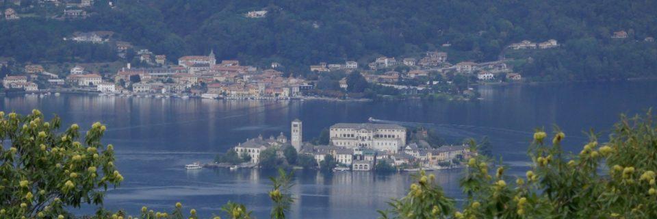 Ortasee mit Isola San Giulio